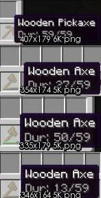 [1.3.1] Show Durability Mod - Прочность вещей