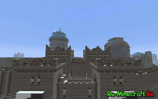 [MAP]  Winterfell - Большой и красивый замок.