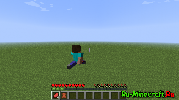 [1.3.1] Better Third Person Mod - Вид от третьего лица в Minecraft
