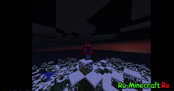 [1.3.2] SpiderMan Mod-Чебурек паук!