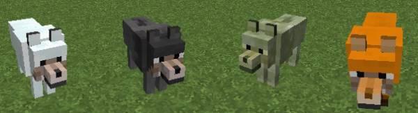 [1.3.2 & 1.4.2] More Wolves Mod v - Волк для каждого биома!
