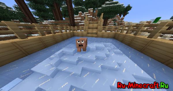 [1.3.1] Snow Mod - Каток со Снуффи!