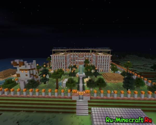 [MAP] Огромный особняк - Херобрин одобряет!
