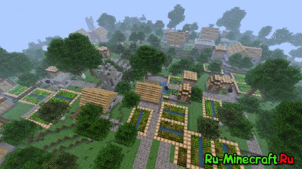 Mo Villages [1.3.1] [1.3.2] - Деревни в каждом биоме!