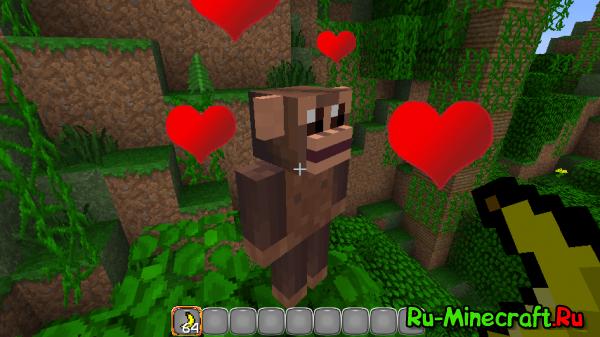 [1.3.2 & 1.4.2] Monkey Mod - Over 9000 мимимишности!