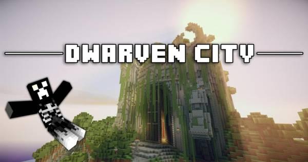 Dwarwen City - интересная карта с заброшенным замком