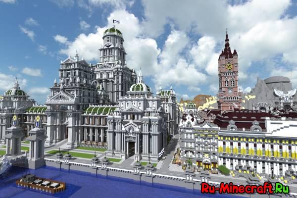 Огромный имперский город 19 - 20 веков! Офигенная карта