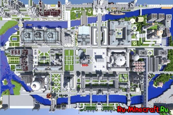 Карты на Города в Minecraft