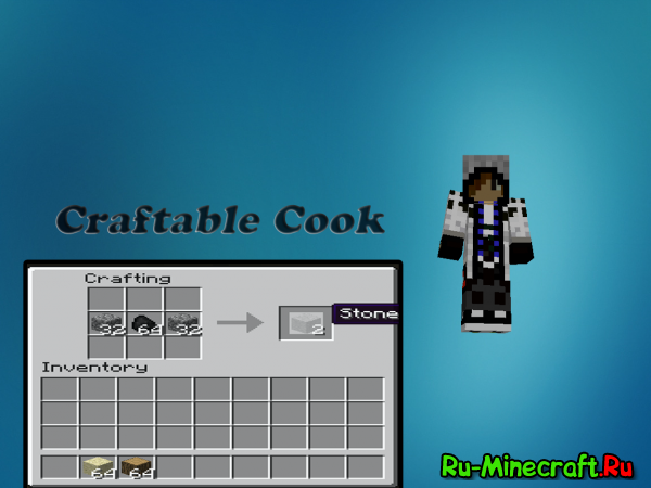 [1.3.2] Craftable Cook - Верстак - печка оО