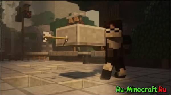[Video]Earthbending in Minecraft - Это СИЛА ЗЕМЛИ!