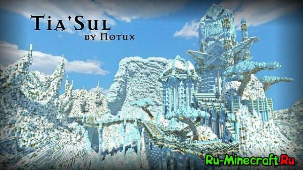 Tia'sul - Очень красивая зимняя карта!