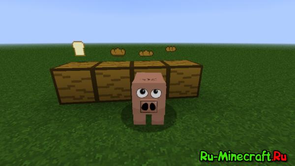 [1.3.2 & 1.4.2] Bread mod - Новый хлеб!
