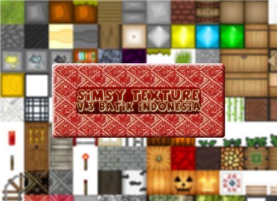 [1.3.2][64px] SimsyTexture V3 Batik - довольно интересный текстурпак