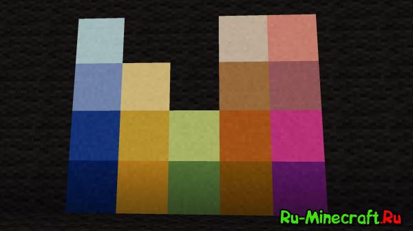 [1.3.2] More Colours! - Добавь в MC больше шерсти!