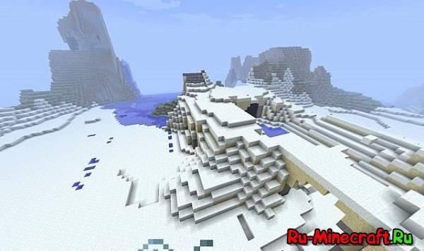 [1.3.1][Mod]Snowy Desert Biome Mod - Новый биом!