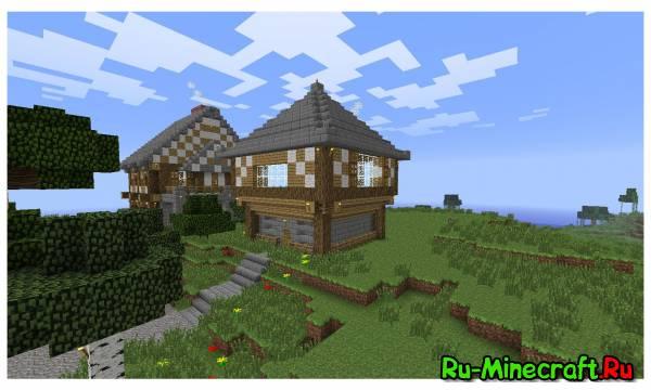 Строим город! Part 4 -- Дом ( 2 ) !