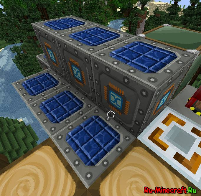 как сделаться улучшенная солнечная панель в minecraft #4