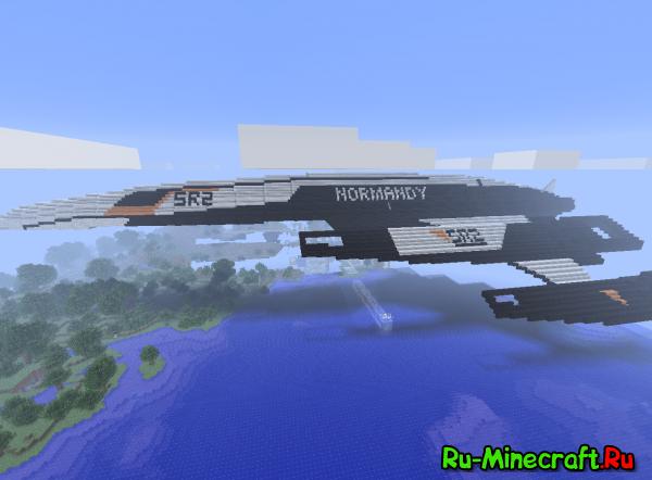 [Map] Normandy SR2-корабль из Mass Effect.