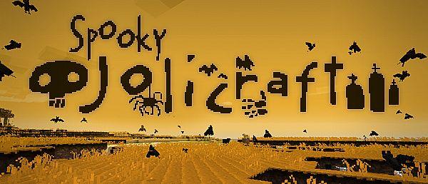 [1.4.2][16px] Spooky Jolicraft - жуткий и мрачный текстурпак