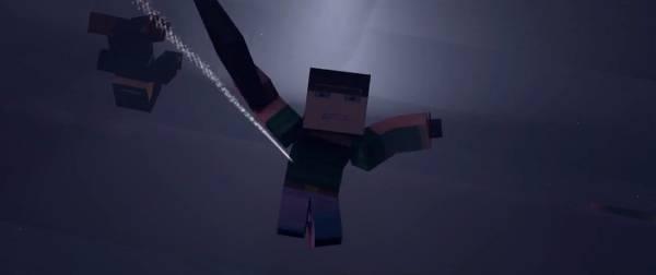 [Video] Погоня в Minecraft - The Chase