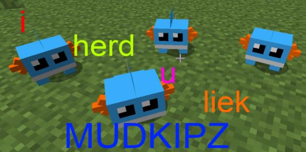 [1.3.2] Mudkipz Mod! - Мадкипы няши!!!
