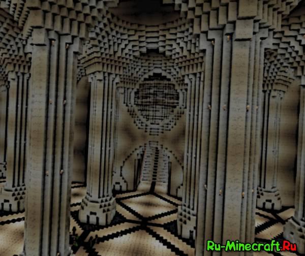 [Map]Recreation of Godcraft's Moria V3 - Первая крепость гномов из Властелина Колец