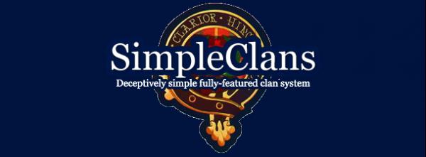 SimpleClans - плагин кланов на Bukkit + команды и описание