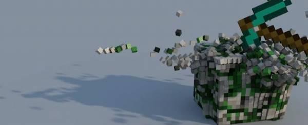 [Video] Minecraft - Super Slow Montions Madness: Разрушения в замедленном режиме!