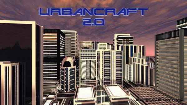[1.7.2][128x] Urbancraft 2.0 - текстурпак для города v2.0