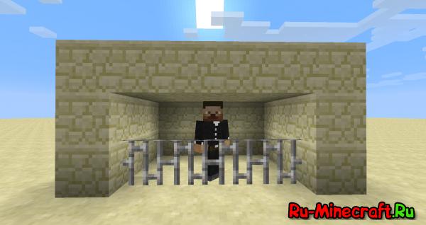 [1.4.2] Тюрьма в Minecraft без модов и плагинов