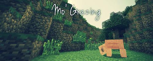 [1.4.2] Mo' Grazing - Животные едят траву