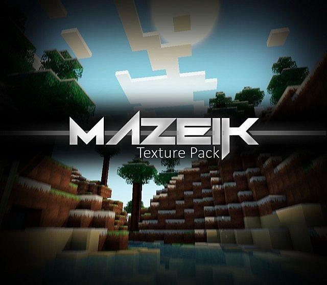 [1.4.x][128x] Mazeik - красивый текстурпак