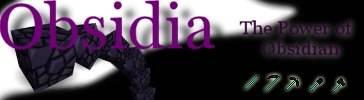 [1.4.5] Obsidia - Сила обсидиана.