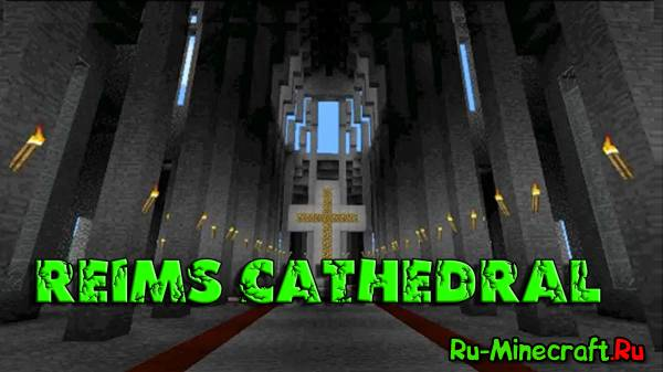 Minecraft Timelapse: The Making of Acraftia - Reims Cathedral