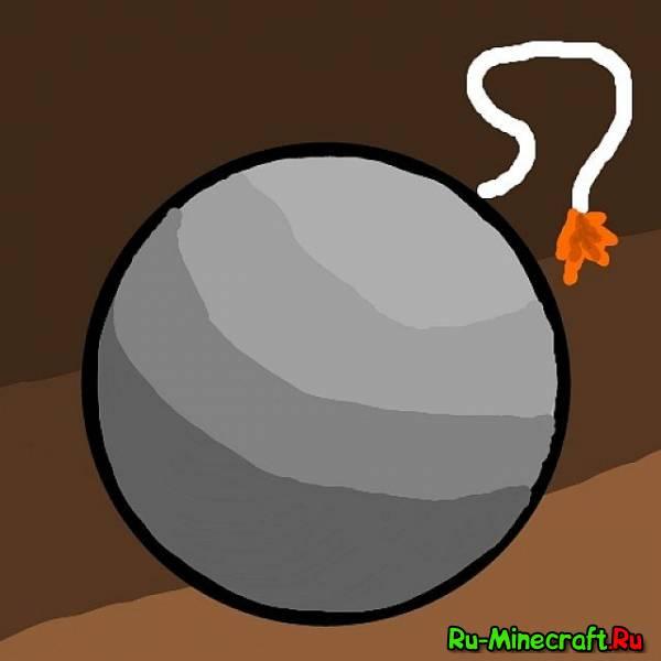 [1.4.2] Throwable Bomb - Бомба и сюрекены в майнкрафт