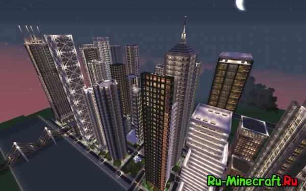 [Map] Downtown New Crafton - Довольно реалистичный мегаполис