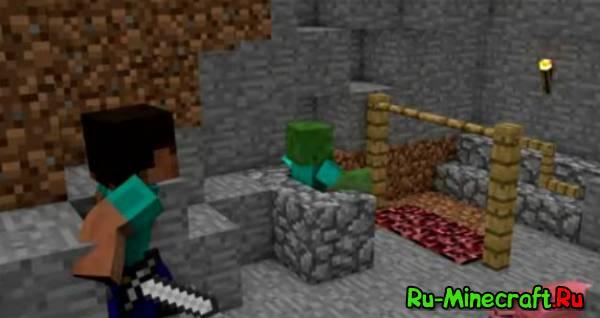 Спасение свинюшки [Minecraft Animation]