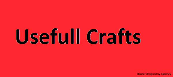 [1.4.5]Usefull Crafts-новые рецепты в игру