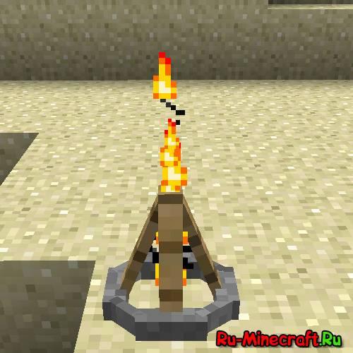 [1.5.1] Campfire mod - Мод на костры
