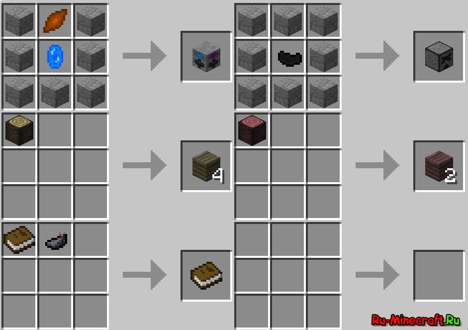 Рецепты minecraft новый мир