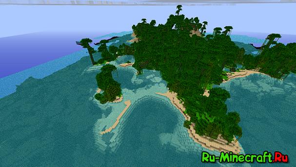 [Adv] Необитаемый остров- отличная карта на выживание