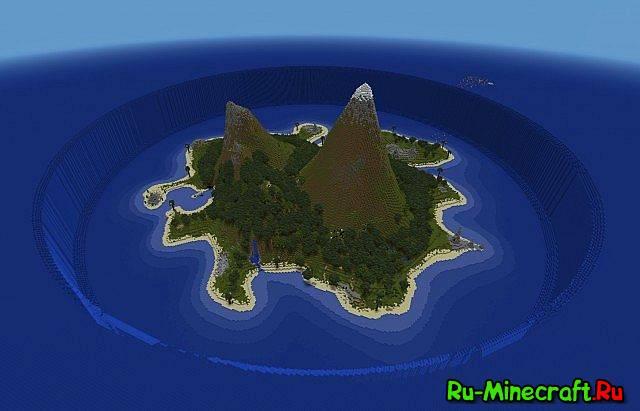 скачать карту для майнкрафт красивый остров - фото 3