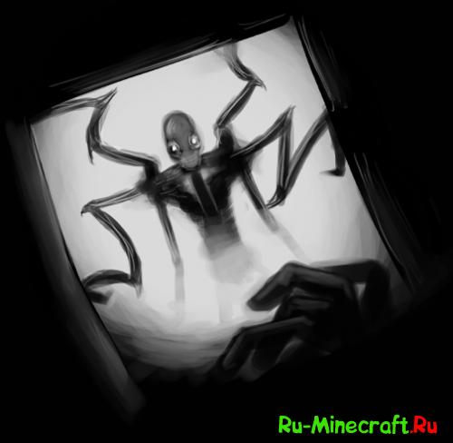 [Video] Slender Man Minecraft пародия на Slender Man