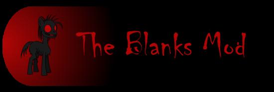 [1.4.6] The Blanks Mod - Пони дьявола