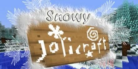 [1.4.5/12w50a] [16x] Snowy Jolicraft - Новогодний текстурпак