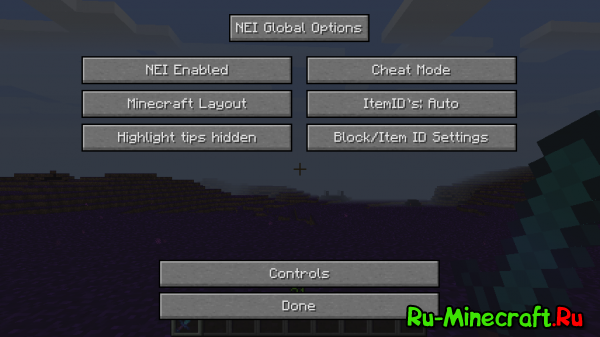 Not Enough Items (NEI) - НЕИ, крафты [1.12.2] [1.11.2] [1.10.2] [1.9.4] [1.8] [1.7.10]