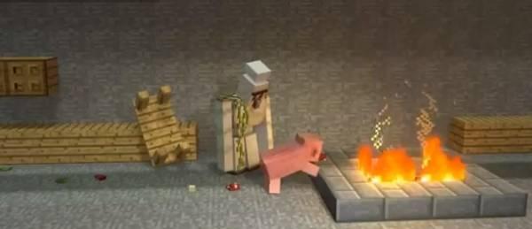 [Video] Cooking With Iron Golem - Готовим с Железным Големом. ^_^