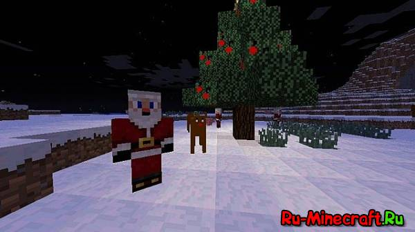 [1.4.5]Minecraft Santa Mod-С Новым годом, господа