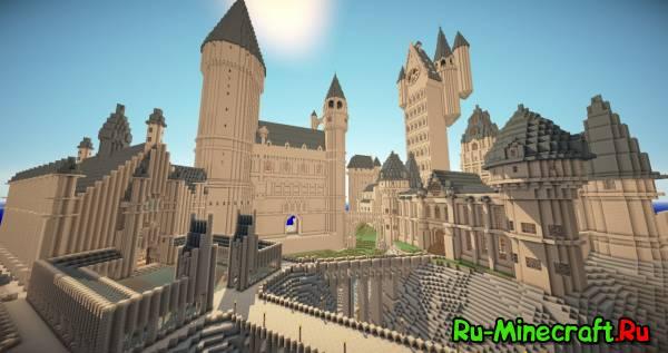 [Map] PotterCraft Pre. 2 - Волшебный мир Гарри Поттера