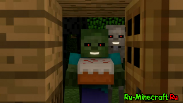 """""""I Baked a Cake Just for You"""" - A Surreal Minecraft Music Video"""